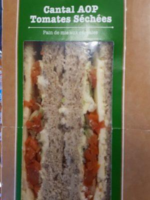 sandwich cantal tomates séchées
