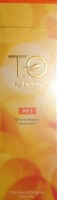 Infusion Thé Noir d'Origine Numéro 7 Grand Assam