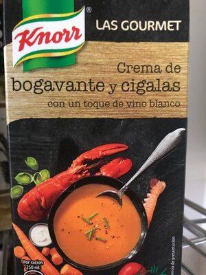 Knorr Crema Gourmet De Bogavante y cigalas 500ML