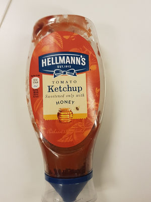 Tomato Ketchup sweetened only with honey