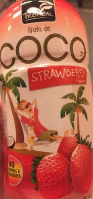 Nata de Coco Strawberry Flavour