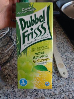 Dubbel Frisss Witte druiven & citroen