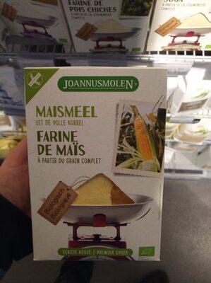 Farine de maïs à partir de grain complet