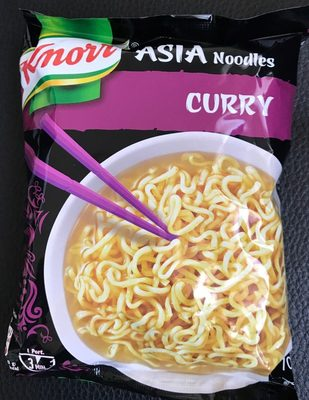 Asia noodles curry