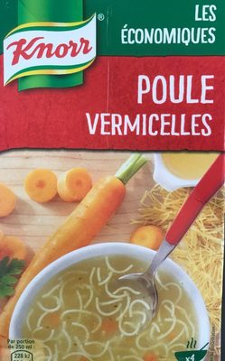 Knorr Soupe Liquide Poule Vermicelle 1l