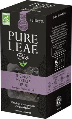 Pure Leaf Thé Noir Bio Myrtille & Figue 15 Sachets