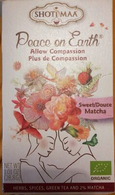 Thé Peace on Earth - More Compassion