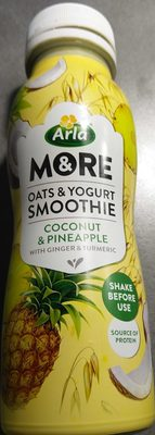 More - Oats & Yogurt Smoothie, Coconut & Pineapple