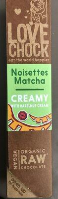 Noisette matcha CREAMY