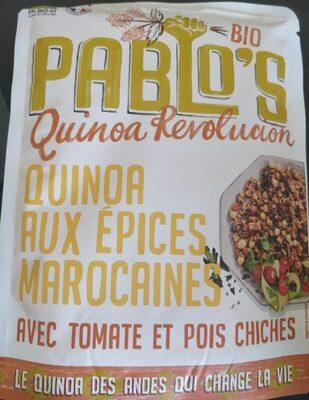 Pablo's quinoa révolution aux épices marocaines