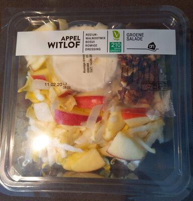 appel witlof groene salade