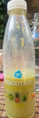 Smoothie apple banana ananas kiwi grape lime