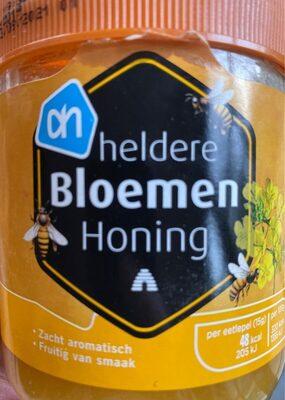 Heldere bloemen honing