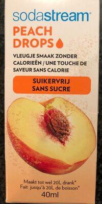 Sodastream Peach Drops