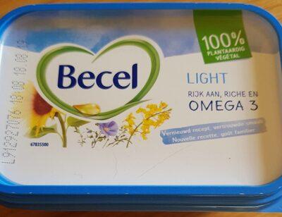 Becel Light Omega 3 100% végétal