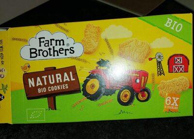 Natural bio cookies