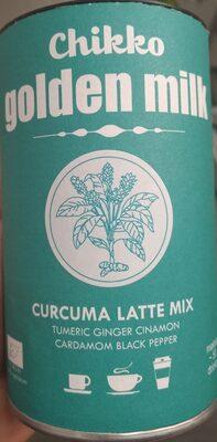 Chikko golden Mill curcuma latte mix