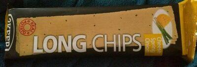 Long chips au fromage et a l'oignon