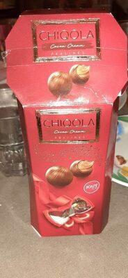 Cocoa cream pralines