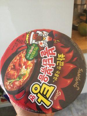 Samyang Hot Chicken Flavor Ramen Stew Type (soup) (bowl)