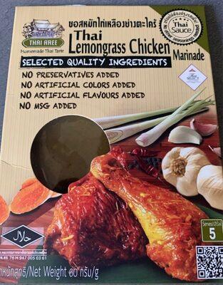 Thai lemongrass chicken