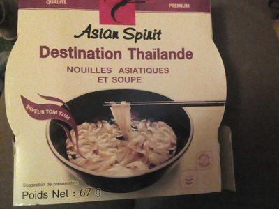 nouilles asitiques et soupe