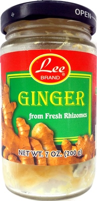 Ginger from Fresh Rhizomes