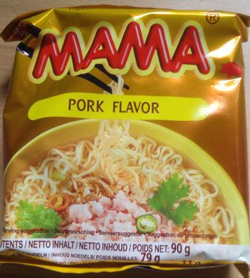 Mama Nouille instantanée saveur porc