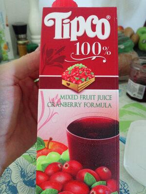 Mixed Fruit Juice Cranberry