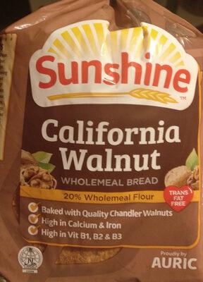 California Walnut Wholemeal bread