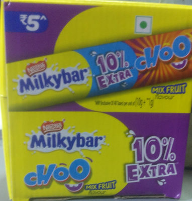 milkybar ( choo - mix fruit )