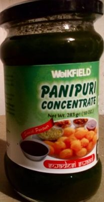 Panipuri concentrate