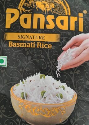 Signature basmati rice