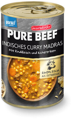 Pure Beef Indisches Curry Madras
