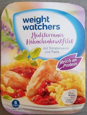 Weightwatchers Hähnchenbrustfilet Provencal, Mit P...