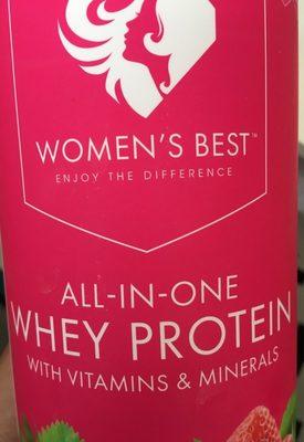 Women's Best Whey Protein Strawberry