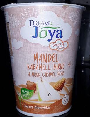 Mandel Karamell Birne Joghurt- Alternative