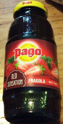 Pago - Fragola Erdbeere (saft)