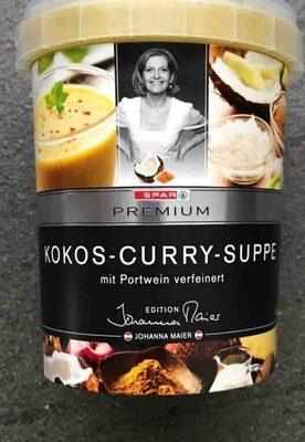 Kokos-Curry-Suppe mit Portwein verfeinert