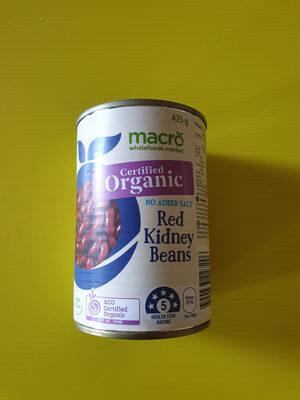 Red Kidney Beans (Organic)