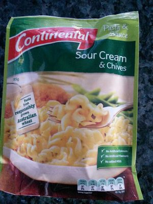 Continental Sour Cream and Chives