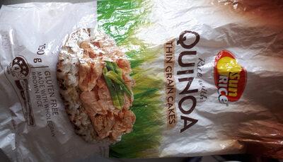 Rice with Quinoa Thin Grain Cakes