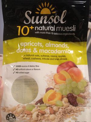 Sunsol Muesli Fruit&nut