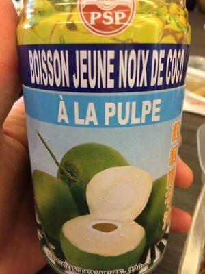 Boisson jeune noix de coco
