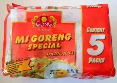Gong Mi Goreng Special Fried Noodles 5 Pack