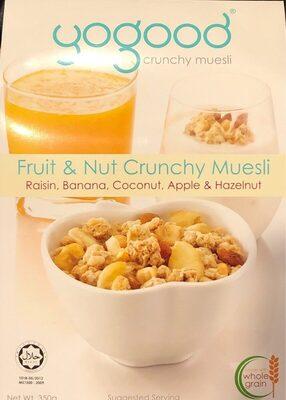 GOGOOD Crunchy Muesli
