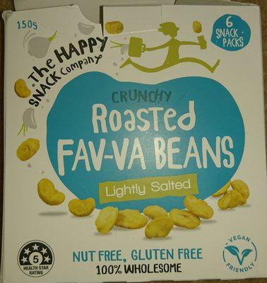 crunchy Roasted Favva beans