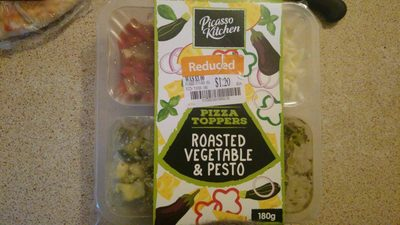 Roasted Vegetable & Pesto