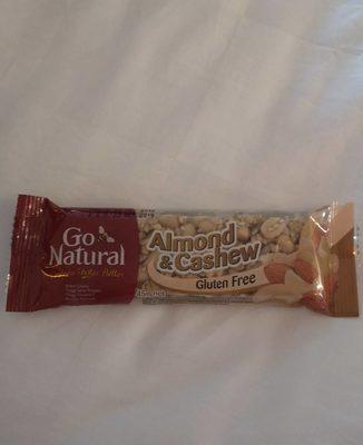 Go Natural Snack Bar - Almond & Cashew